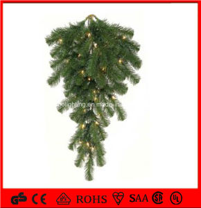 wholesale holiday light christmas wreath decorations light pvc garland fancy light - Christmas Wreath Decorations Wholesale