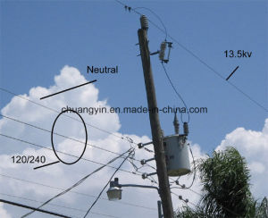 Pole Mounted Single Phase Oil Distribution 10 kVA Transformer Price pictures & photos