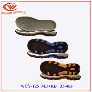 Fashion Unisex Outdoor Sandals Sole Fashion EVA Rb Outsole for Making Flip Flop  pictures & photos