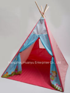 Factory Supply Colorful Girl Tent with Bottom pictures & photos