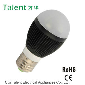 3W E27 Black Color Housing LED Globe Bulb