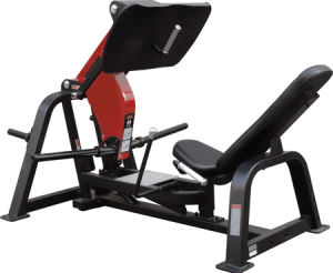 Seated Leg Press/Plate Load Fitness Gym Equipment/Hammer Strength Machine pictures & photos