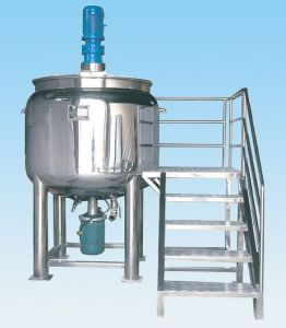 Stainless Steel Mixing Tank Vessel Opened Single Layer pictures & photos