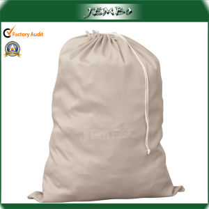 High Quality Hot Sell Cotton Drawstring Bag for Laundry pictures & photos