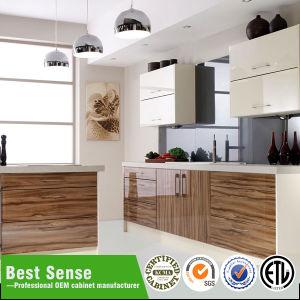 American Style PVC Vacuum Door Kitchen Cabinet