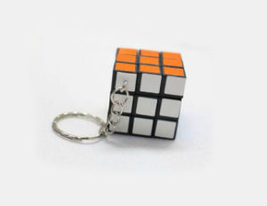 OEM New Design Fashion Magic Cube Keychain pictures & photos