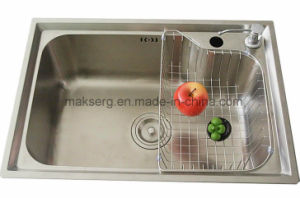 Stainless Steel Double Basins Kitchen Sink Supplier OEM ODM pictures & photos
