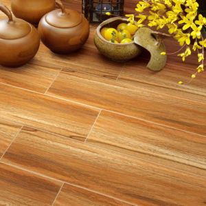Mf815217 Wooden Pattern Floor Tile Living-Room/Kitchen Floor Tile Antique/ Rustic Surface pictures & photos