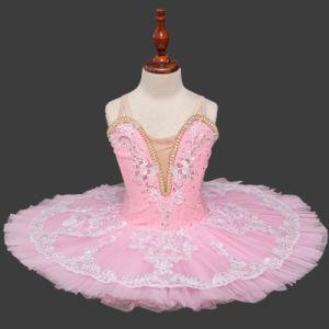 Girls Kid Ballet Leotard Dress Ruffled Gymnastic Dancewear Costume Ballet Outfit