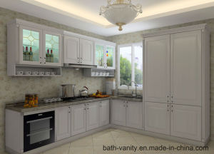 Grandshine Modern Wholesaler Matte Lacquer Wood Kitchen Cabinet pictures & photos