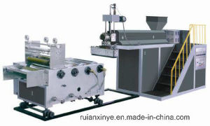 LLDPE Cast Stretch Film Packaging Film Extruder Machine Price pictures & photos