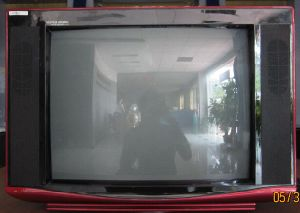 "17"" Digital Color TV with DVB-T2/ISDB-T pictures & photos"