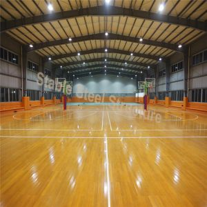 China Prefab Indoor Basketball Court Steel Building with Low Cost ...