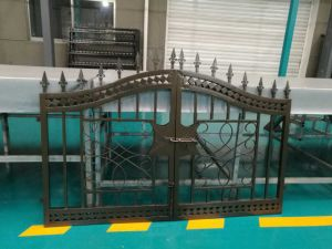 Ce/SGS Gloss Galvanized Steel Ornamental Fence for Balcony pictures & photos