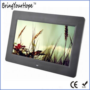 Hot Selling 10 Inch Plastic Digital Picture Frame as Gift (XH-DPF-102B) pictures & photos