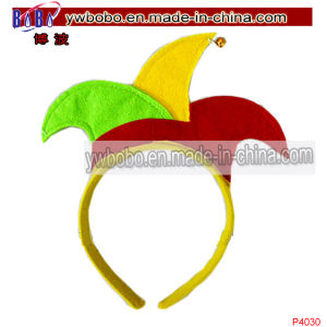 Hair Jewelry Jester Headwear with Hair Accessories (P4030) pictures & photos