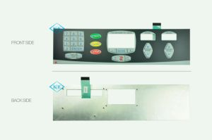 Flat Type Membrane Keypad with Aluminum Panel for Running Machine pictures & photos