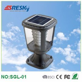 IP65 Solar LED Garden Lamp Solar Post Light Garden Light for Home Use with Low Price