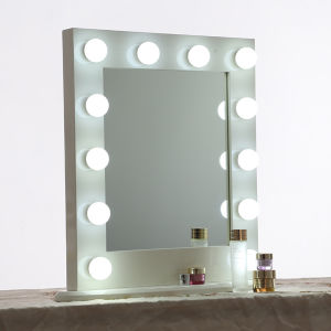 Modern Bathroom Mirror with Lights Built in Hollywood Style Mirror
