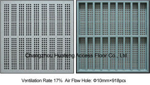 Antistatic 600*600mm Access Perforated Panel pictures & photos