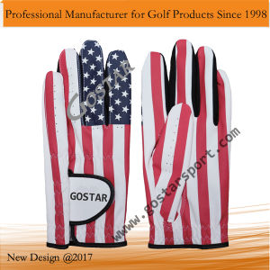 USA Flag Printing Golf Glove pictures & photos