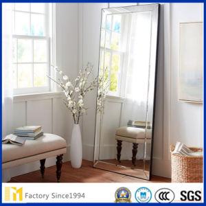 China Whloesale Bevel Border Frameless Silver Large Floor Mirror for ...