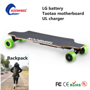 4 Wheel Electric Skateboard Koowheel Electric Skateboard with LG Battery pictures & photos