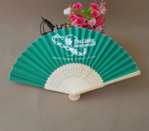 Wholesale Low Cost Personalized Paper Fans