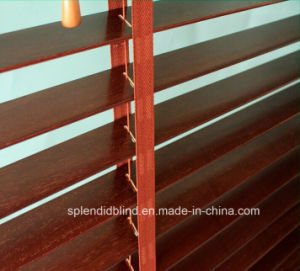 25mm Ladder String Wooden Blinds (SGD-W-521) pictures & photos