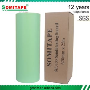 Somitape Sh3100 Super Thickness Self Adhesive PVC Sandblast Film pictures & photos
