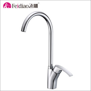 High Quality Low Lead Brass Single Handle Kitchen Sink Faucet