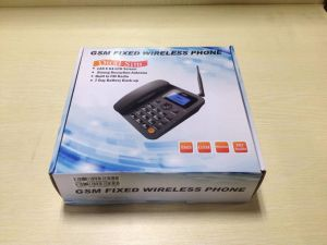 GSM Fixed Wireless Telephone with 2 SIM Card Slot pictures & photos