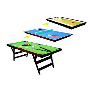 3 In 1 Pool Table (LSF4)