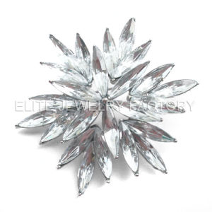 Fashion Jewellery Acrylic Stones Brooch (B698)