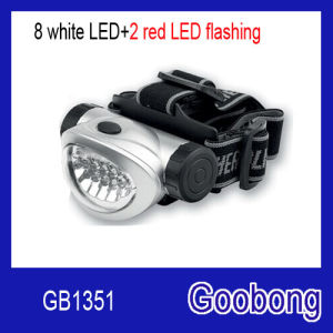 10LED Plastic Headlight Headlamp