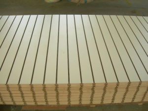 Slotted MDF Board pictures & photos