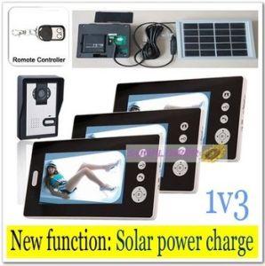 Newest Solar Power Charger Wireless 7inch Door Bell /Video Door Phones/ Intercom Systems with  sc 1 st  Made-in-China.com & China Newest Solar Power Charger Wireless 7inch Door Bell /Video ...
