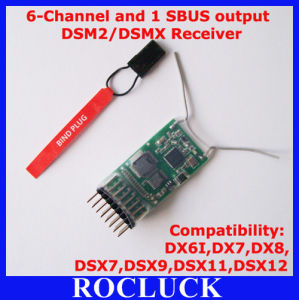 6-Channel Dsm2 Receiver
