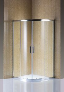 Temperd Glass Screen Shower Doors pictures & photos
