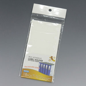 Self-Adhesive Label Holder With Blank Inserts (YP-40) pictures & photos