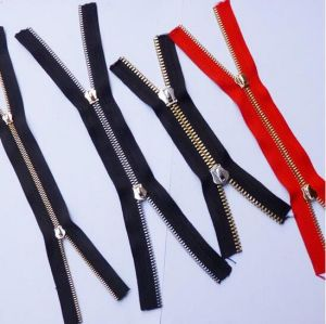 Factory High Quality Open-End Metal Zipper 3# 5# 8# pictures & photos