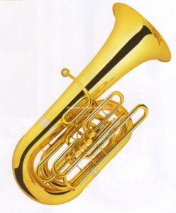 High-Grade CC Key Tuba 5 Frontal (JTU-630)