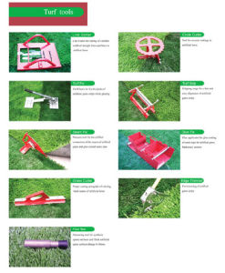 Artifical Turf Tools