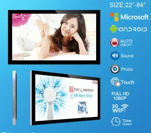"42"" (SD card/USB) Standalone Wall Mounted LCD Advertising Display"