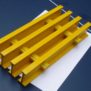 FRP/GRP Grating, Pultruded Profiles, FRP Pultruded Grating pictures & photos