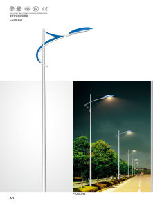 CE&UL Approved LED Street Lamp