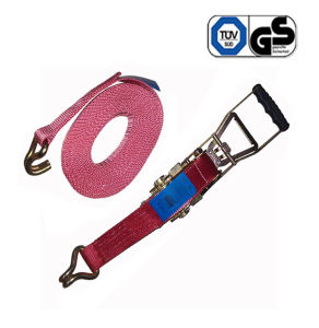 5000kg Ergo Ratchet Tie Down with Double J Hooks