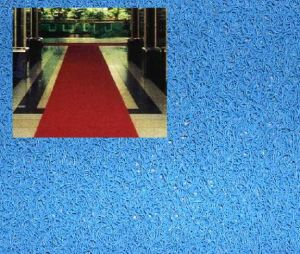 Coiled PVC Floor / Clean Loop Rubber Entrance Mat