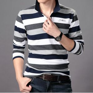 Men′s Stand Collar Shirts for Promotional