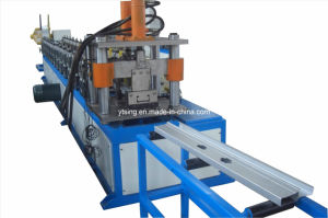 7.5kw and 0.3-1.2mm Thickness Passive Double Uncoiler Track and Stud Roll Forming Machine (YD-0232)